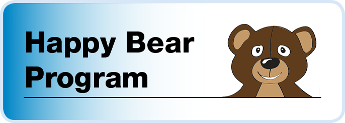 Happy Bear graphic for website