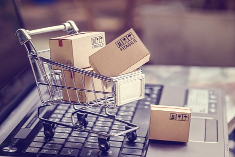 tiny shopping cart online shopping amazon resized for social media